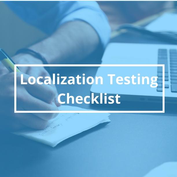 Localization Testing Checklist