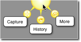 Screenshot of the menu of a great Localization Testing Tool.