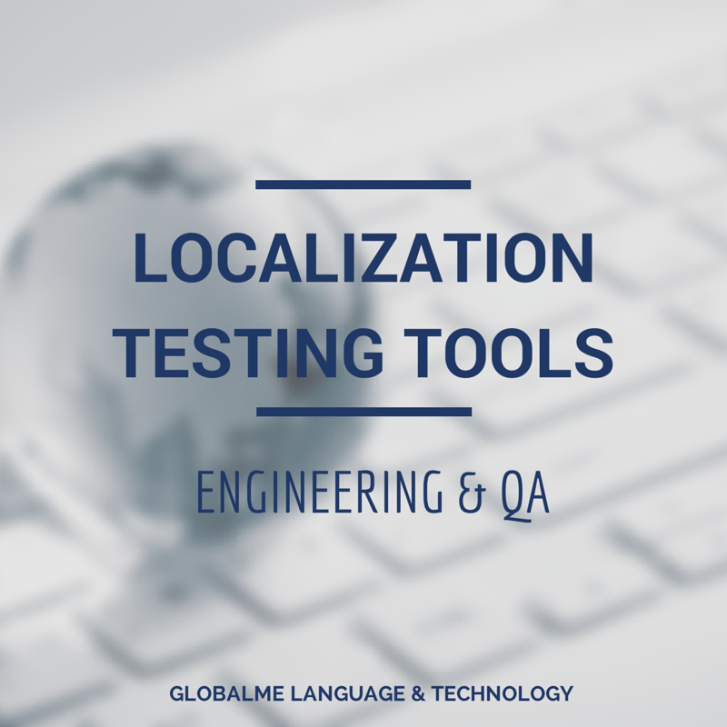 Website tile for a page regarding localization testing tools