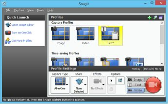 A screenshot of Snagit one of the best Localization Testing Tools around.