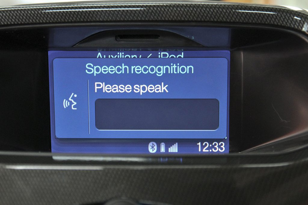 In-Car Speech Recognition - Ford Ranger's Bluetooth(R) Voice Control system