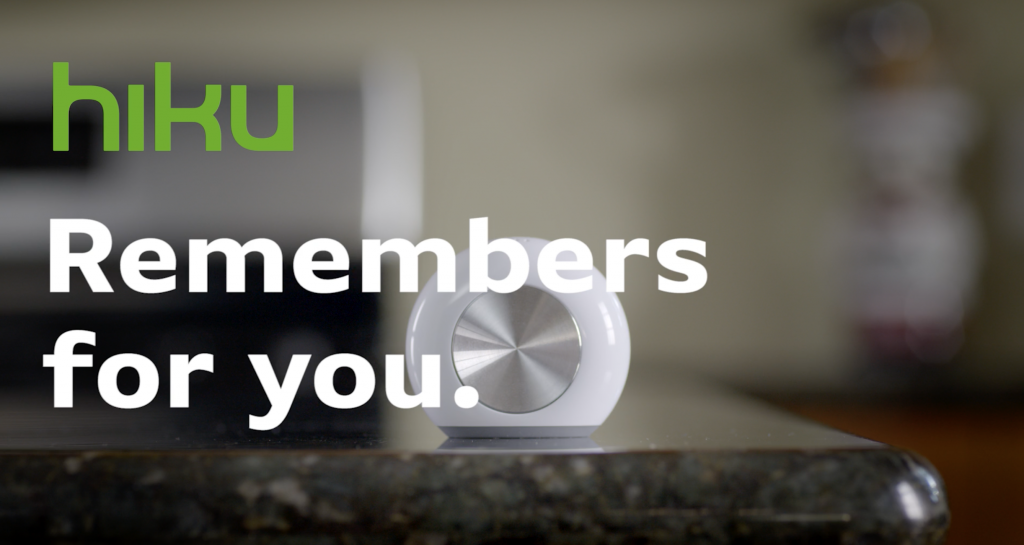 Voice Controlled Devices Hiku