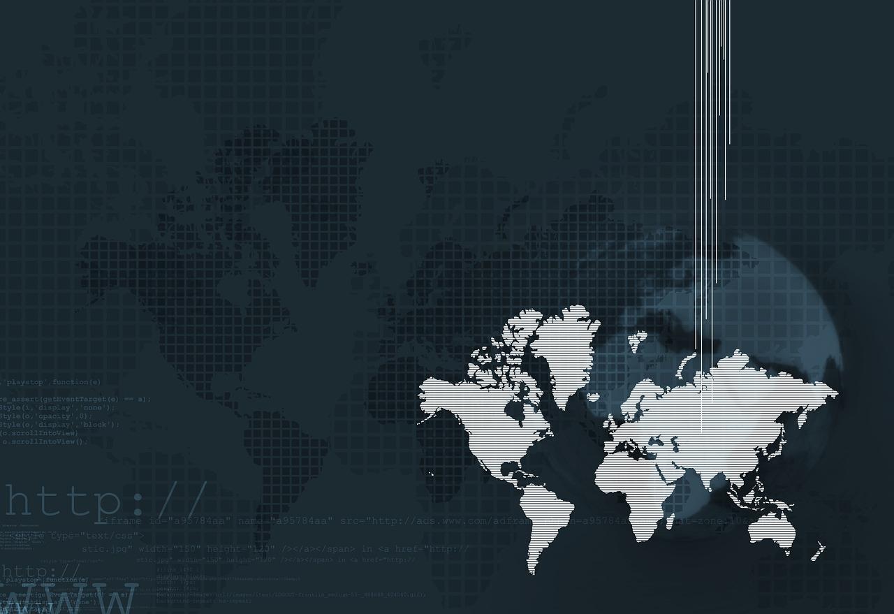 Tłumaczenie maszynowe - mapa swiata