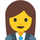 Emoji - postać kobiety