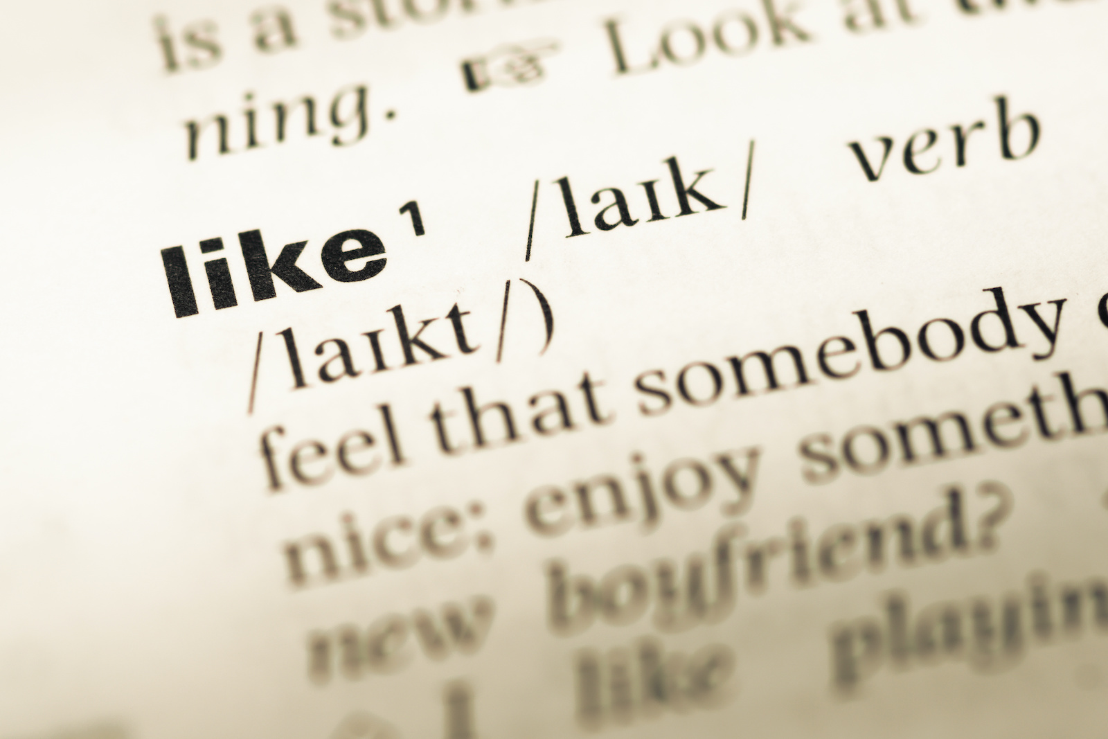 synonymer till like – summalinguae.com