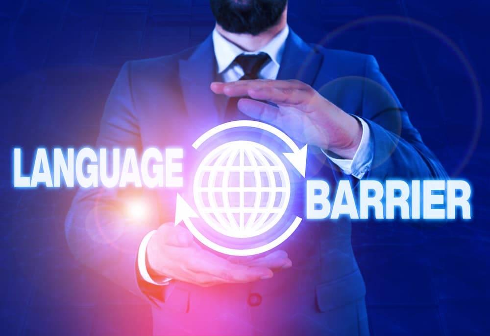 language barriers, international business